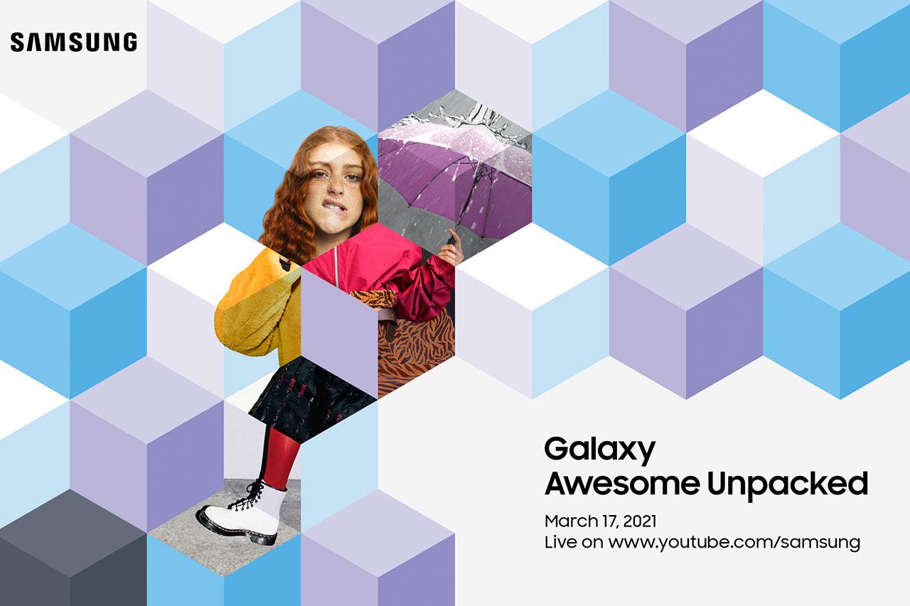 הזמנה ל-Awesome Unpacked (תמונה: Samsung)