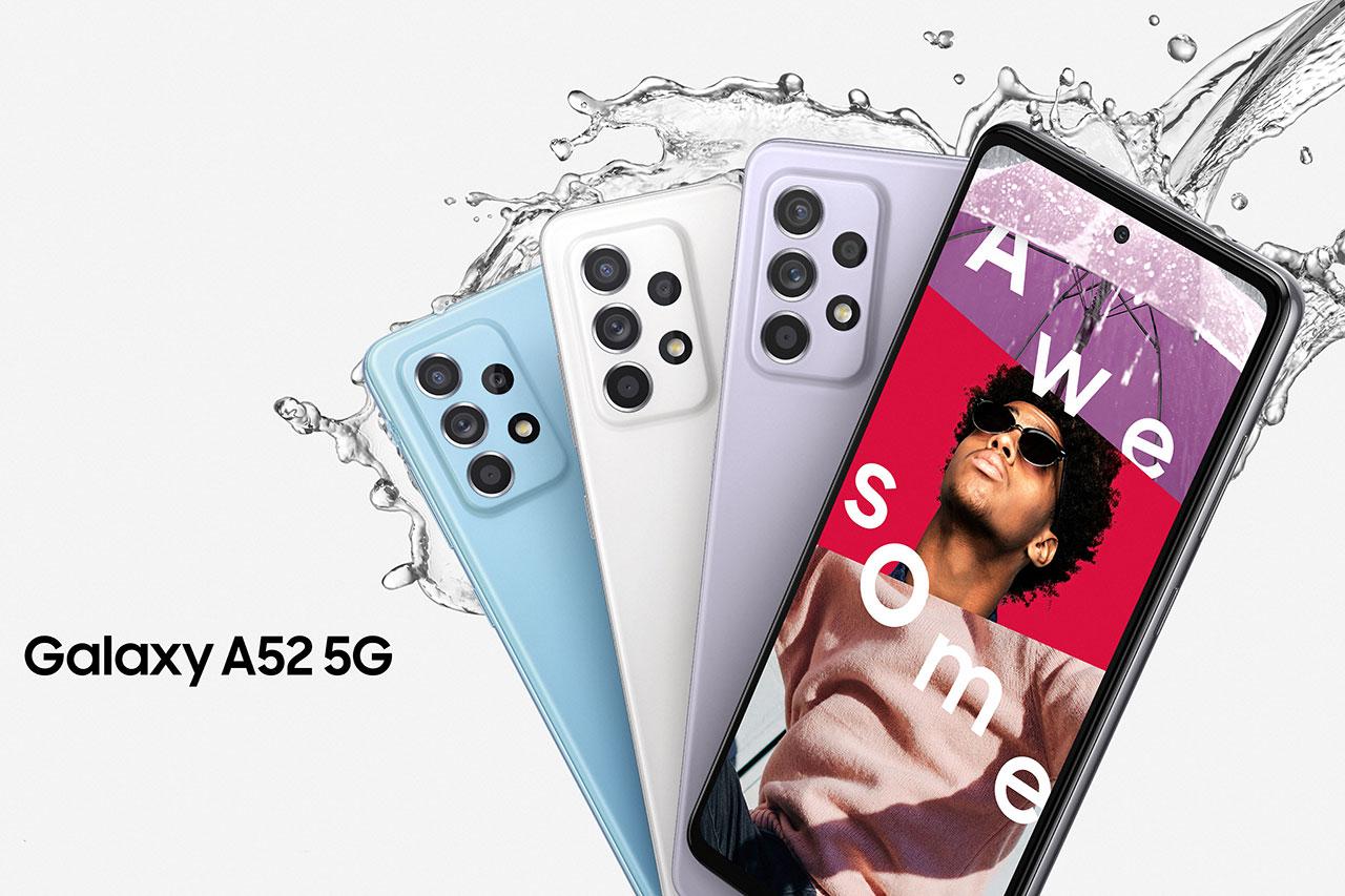 Galaxy A52 5G (תמונה: Samsung)