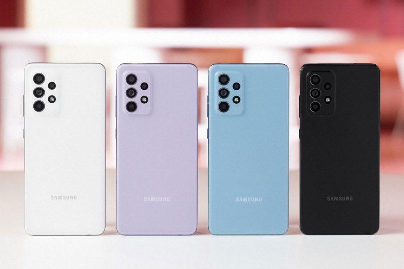 Galaxy A52 (תמונה: Samsung)
