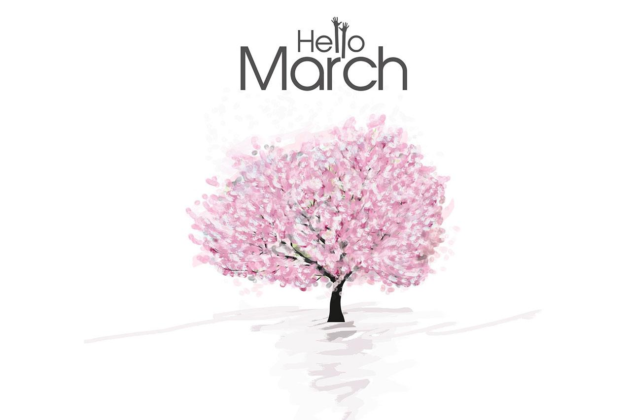 חודש מרץ