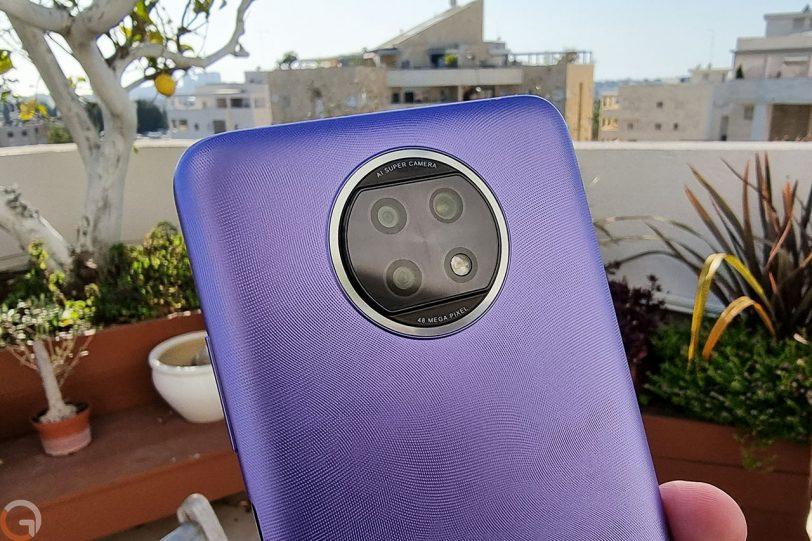 Redmi Note 9T (צילום: רונן מנדזיצקי)
