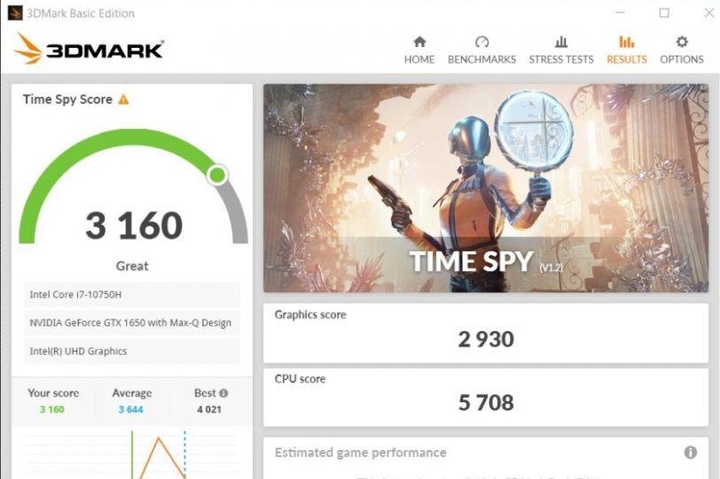 מבחן ביצועים 3DMark Time Spy