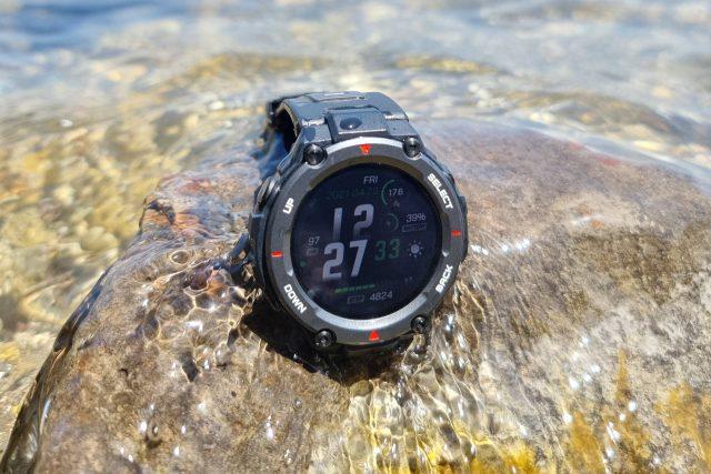 גאדג'טי מסקר: Amazfit T-Rex Pro – שעון חכם ספורטיבי עמיד במיוחד