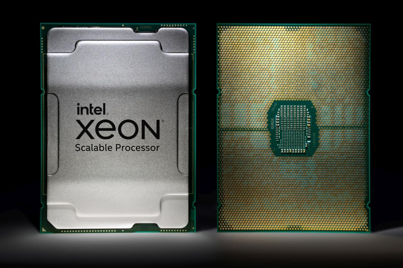 מעבד Xeon Scalable Gen 3 - Ice Lake (מקור אינטל)