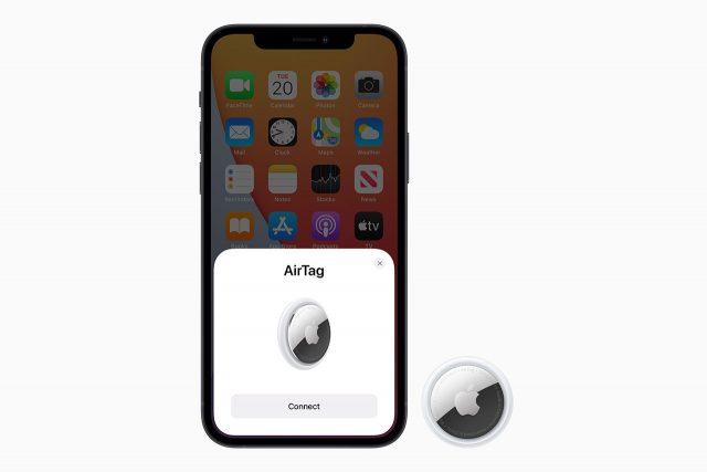 חיבור ה-AirTags לאייפון (תמונה: Apple)
