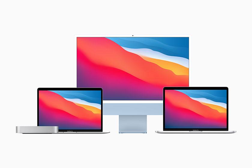מוצרים עם מעבד Apple M1 (תמונה: Apple)