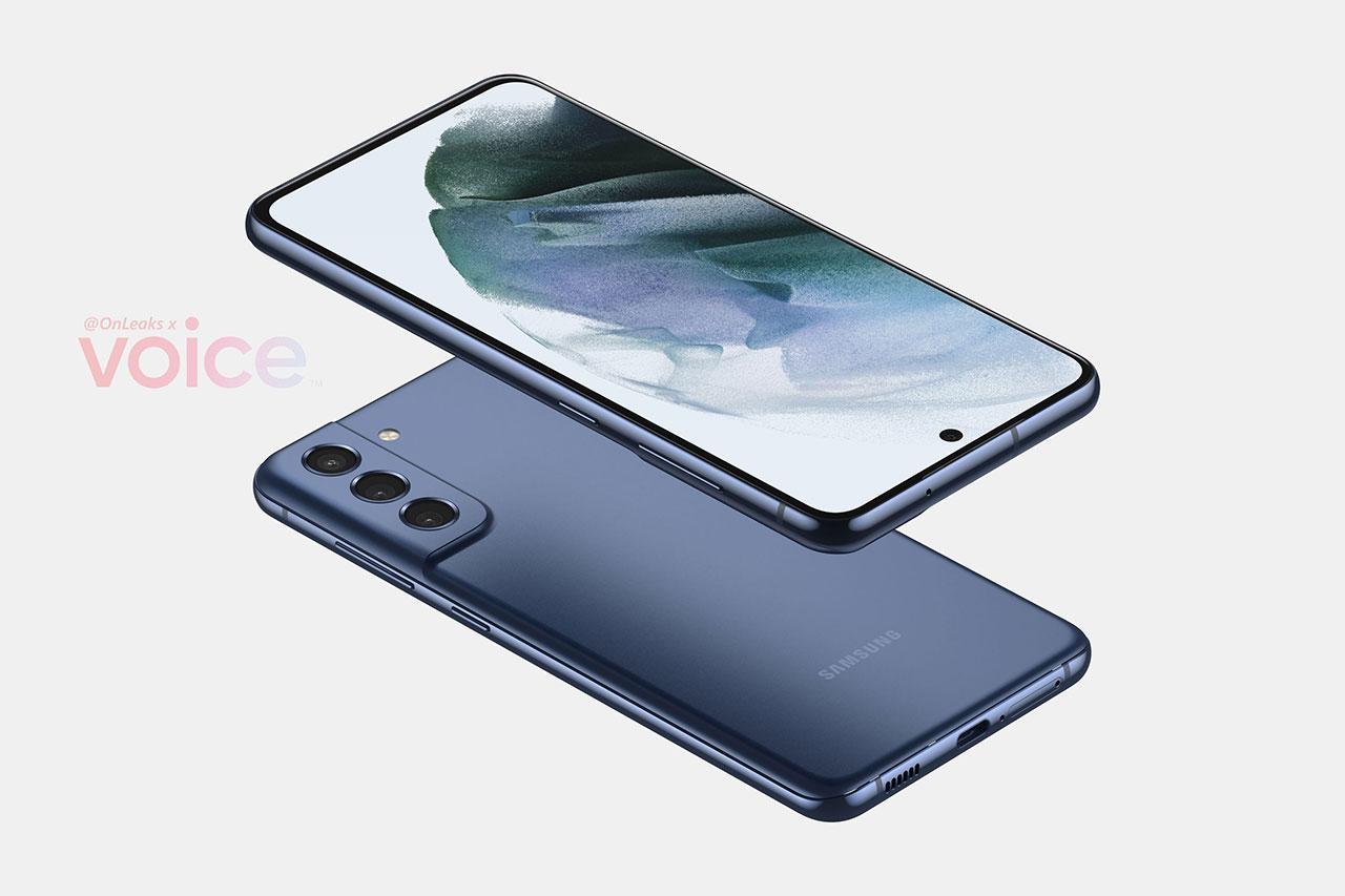 Galaxy S21 FE (הדלפה: OnLeaks / Voice)