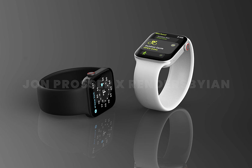 Apple Watch Series 7 (תמונה: Jon Prosser)