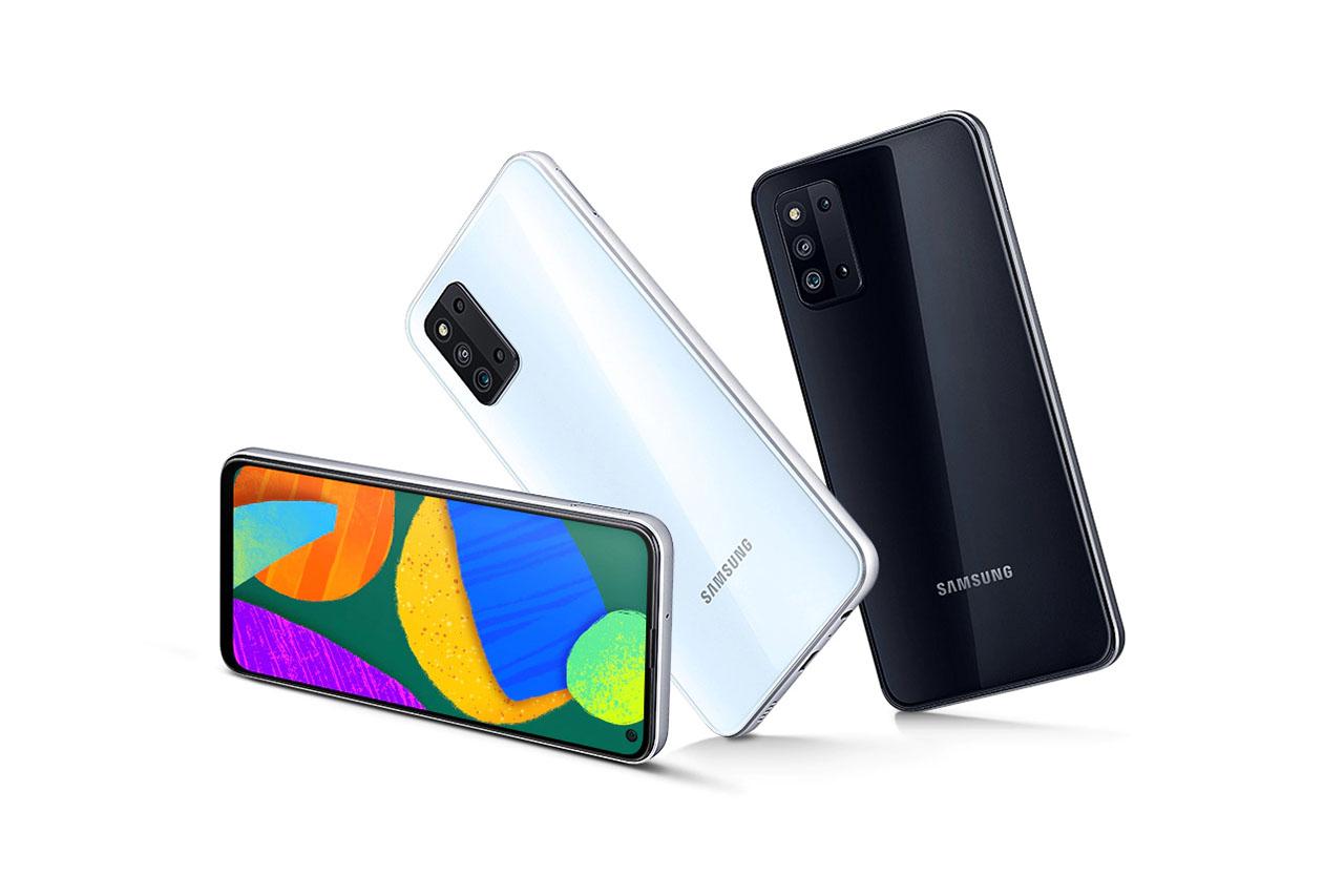 Galaxy F52 5G (תמונה: Samsung)