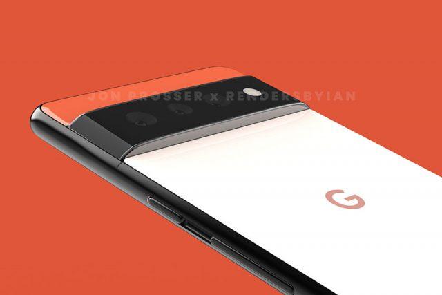 Google Pixel 6 (תמונה: Jon Prosser)