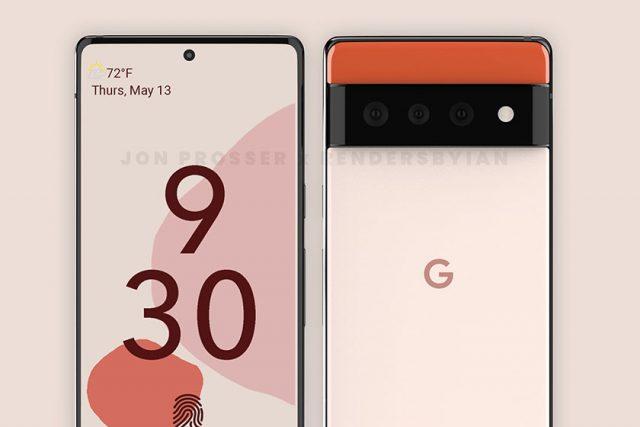Google Pixel 6 Pro (תמונה: Jon Prosser)