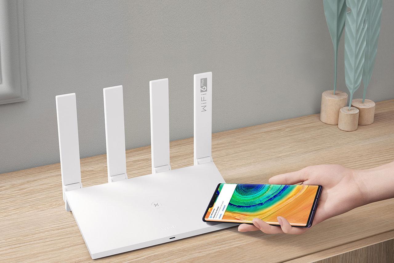 נתב Huawei AX3 (תמונה: Huawei)