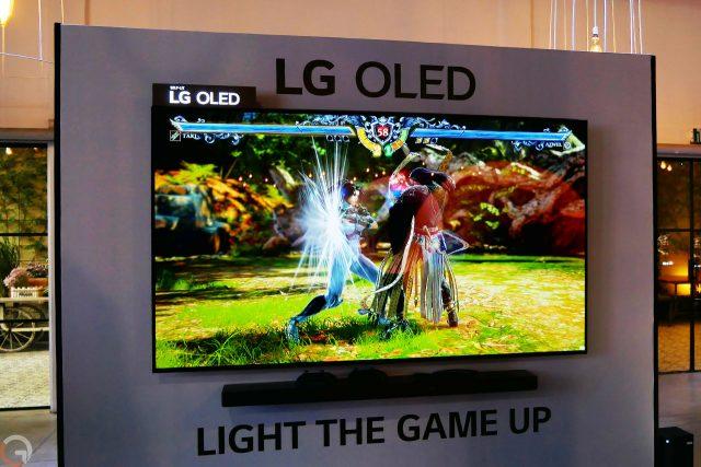 LG OLED C1 (צילום: רונן מנדזיצקי)