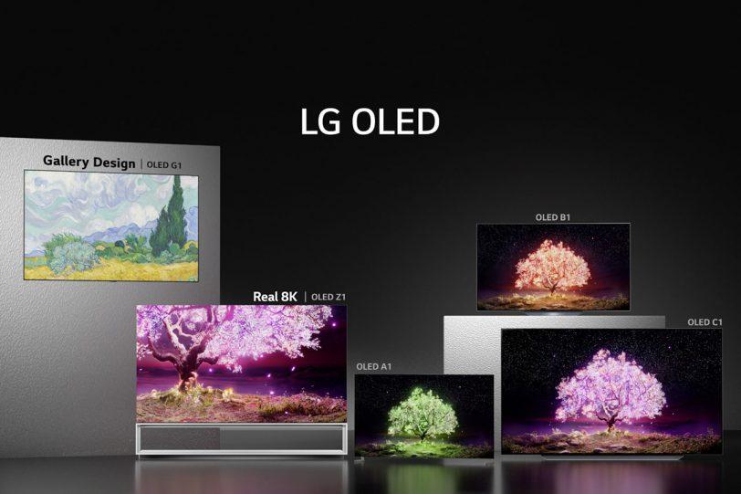 טלוויזיית LG OLED C1 (מקור LG)