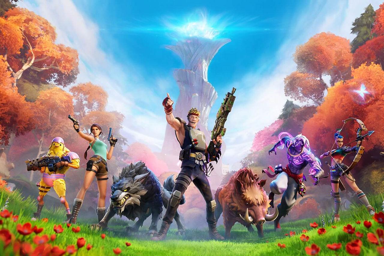 """מתוך """"פורטנייט"""" (תמונה: Epic Games)"""