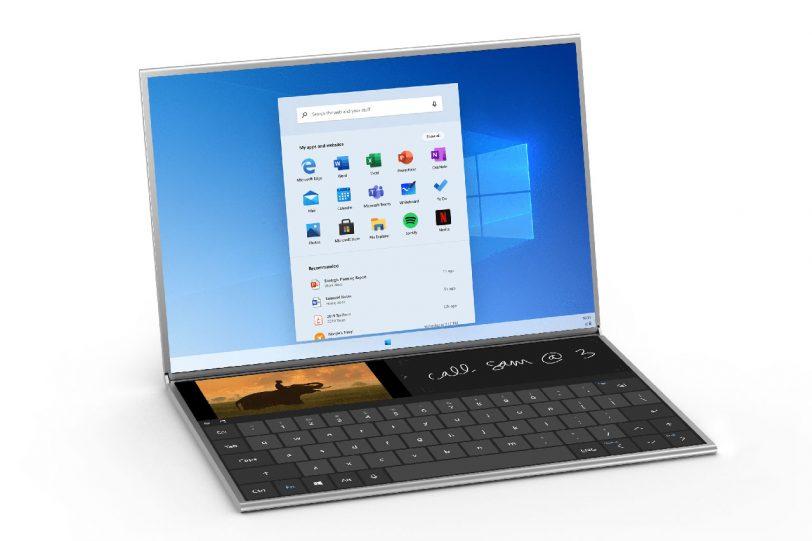 מחשב נייד Surface Neo עם Windows 10X (תמונה: Microsoft)