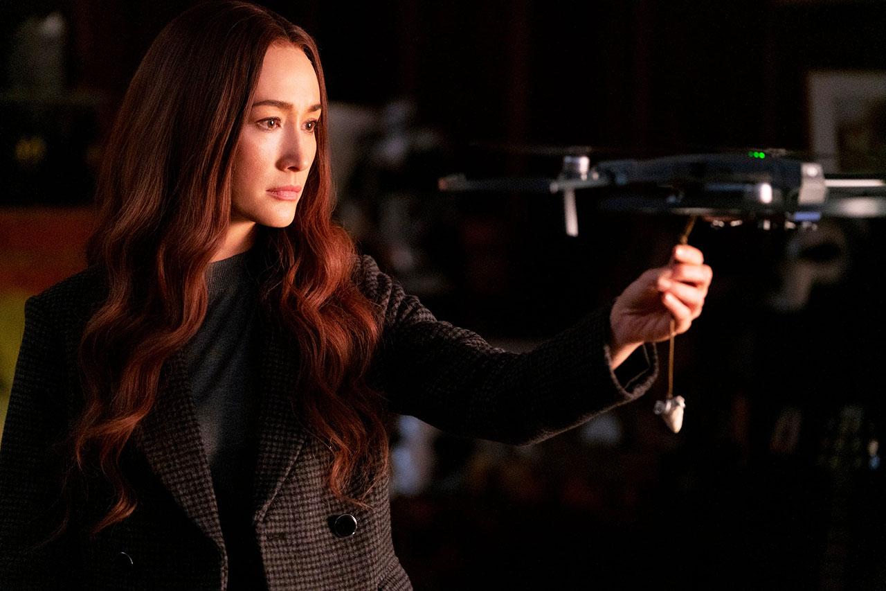 """מגי קיו מתוך """"The Protégé"""" (תמונה: Lionsgate)"""