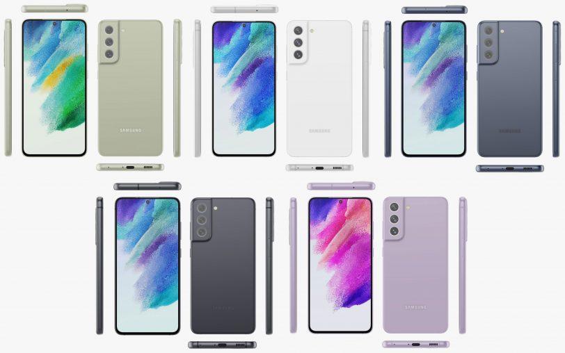Galaxy S21 FE (הדלפה: Evan Blass / Twitter)