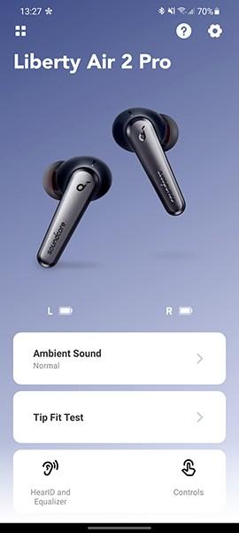 אפליקציית אוזניות Anker