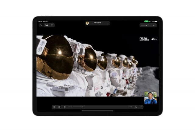 SharePlay ב-iPadOS 15 (תמונה: Apple)