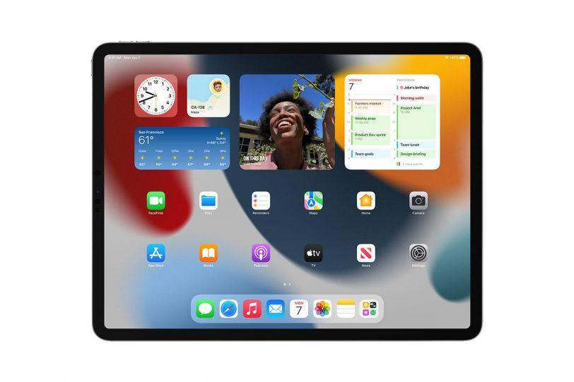 וידג'טים ב-iPadOS 15 (תמונה: Apple)