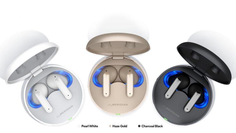 צבעי אוזניות ה-TONE Free FP8/9 (מקור LG)