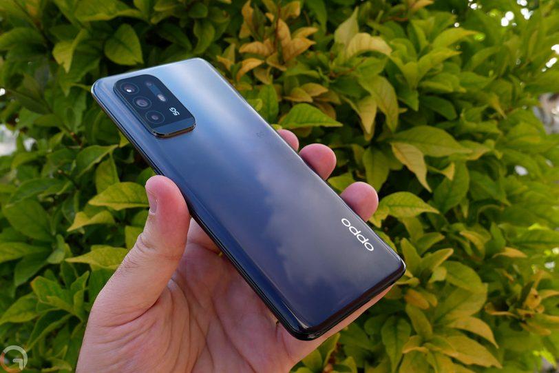 Oppo A94 5G (צילום: רונן מנדזיצקי)
