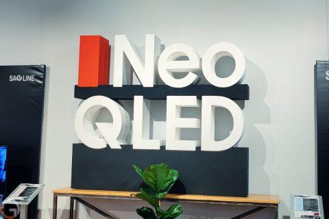 שלט Neo QLED (צילום: רונן מנדזיצקי)