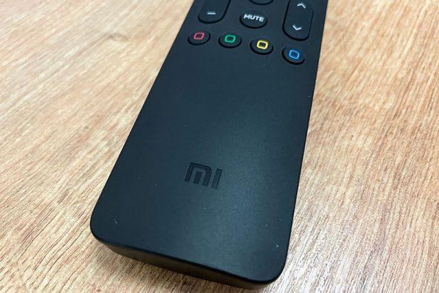 Xiaomi Mi TV Q1 QLED Remote .(צילום: אופק ביטון, גאדג'טי)