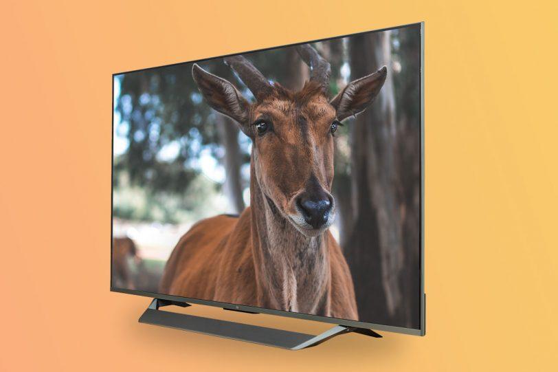 Xiaomi Mi TV Q1 QLED 75 (צילום ועריכה: אופק ביטון, גאדג'טי)