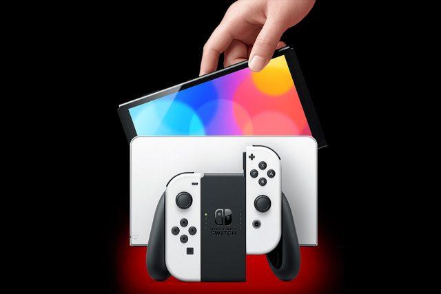 קונסולת Switch OLED (תמונה: Nintendo)