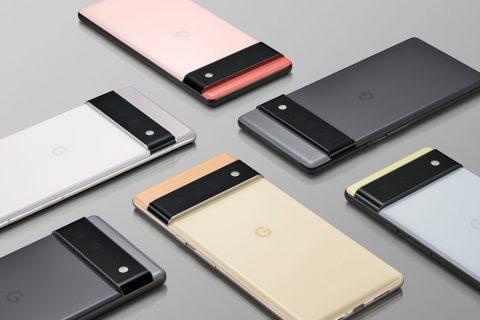 סדרת ה-Pixel 6 (תמונה: Google)