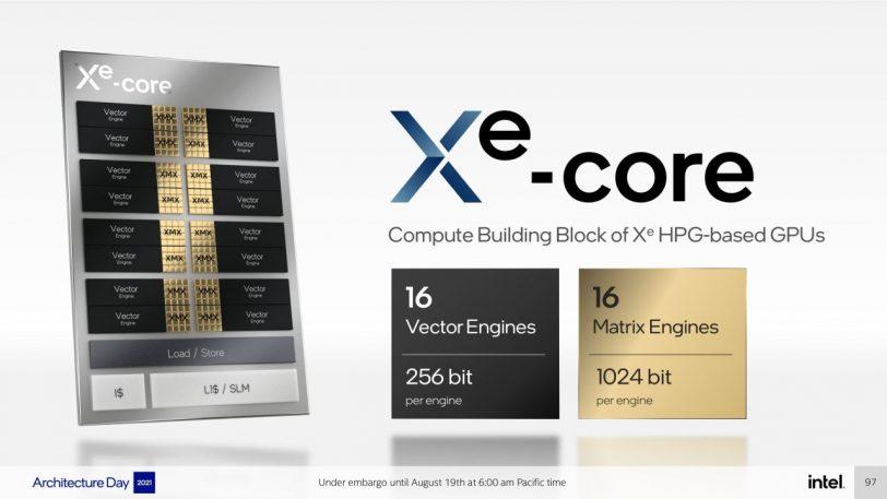 ליבת ה-Xe Core (מקור אינטל)