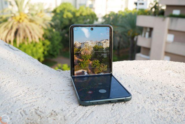 Galaxy Z Flip 3 (צילום: רונן, מנדזיצקי)