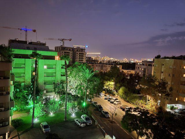 צילום במצב לילה, Flip 3 (צילום: רונן מנדזיצקי)