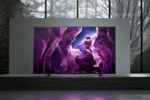 טלוויזיית OLED מדגם A89 (תמונה: Sony)