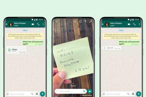 הודעות מדיה נעלמות בוואטסאפ (תמונה: WhatsApp)
