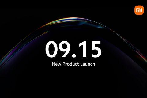 מועד אירוע הכרזה Xiaomi ב-15 בספטמבר