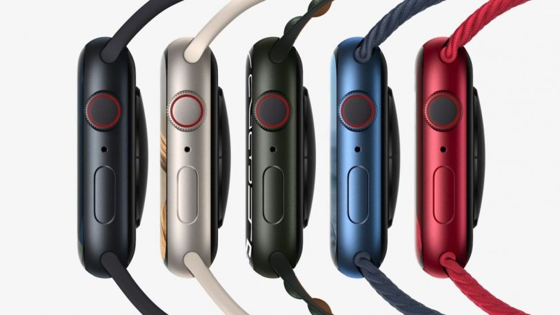 צבעי שעון Apple Watch Series 7 (מקור Apple)
