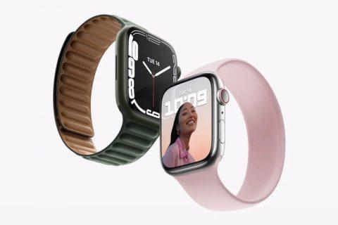 שעון Apple Watch Series 7 (מקור Apple)