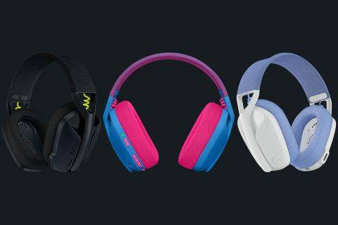 אוזניות Logitech G435 LIGHTSPEED Wireless Gaming Headset (מקור Logitech)