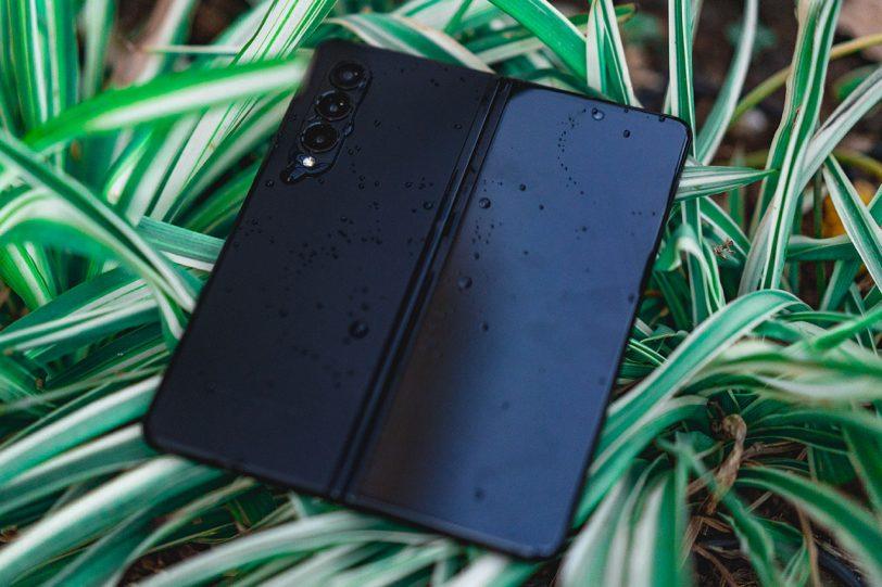 Samsung Galaxy Z Fold 3 ׁ(צילום: אופק ביטון, גאדג'טי)