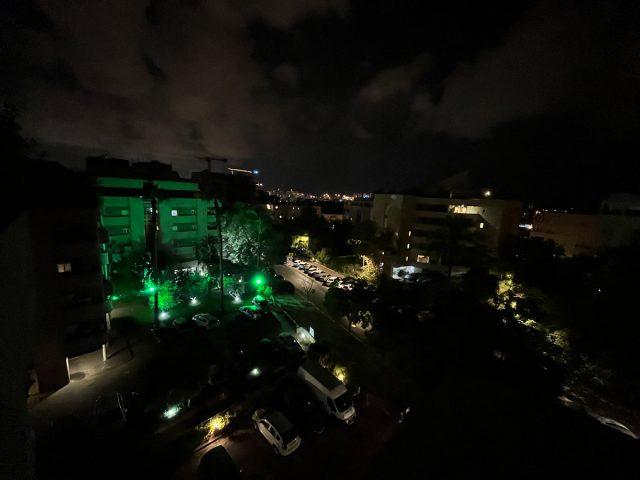 צילום לילה זווית רחבה, אייפון 13 (צילום: רונן מנדזיצקי)