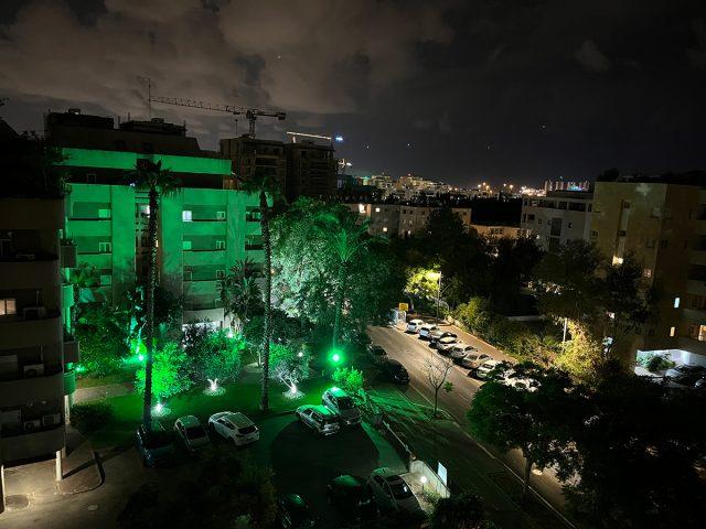צילום לילה זווית רגילה, אייפון 13 (צילום: רונן מנדזיצקי)