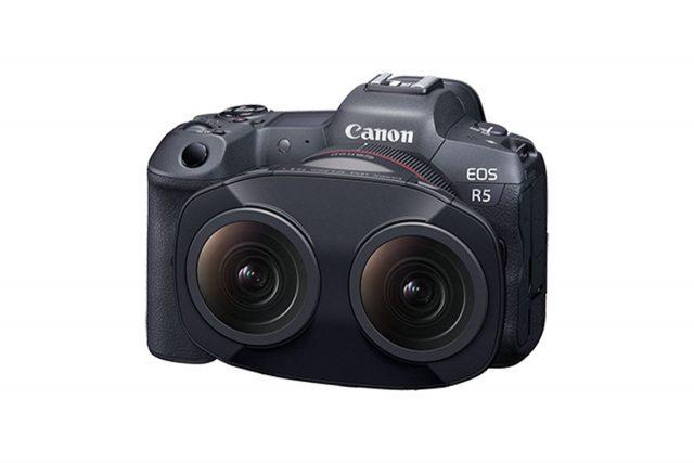 Canon RF5.2mm F2.8 L Dual Fisheye Lens (תמונה: Canon)