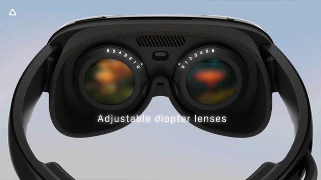 משקפי HTC Vive Flow (תמונה: HTC, הדלפה: Evan Blass)