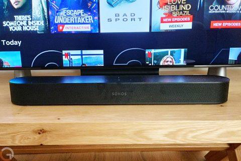 רמקול Sonos Beam Gen2 (צילום: רונן מנדזיצקי)