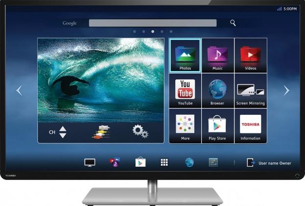 הגדול עכשיו בישראל: טלוויזיה חכמה של טושיבה מבוססת מערכת ההפעלה אנדרואיד LZ-24