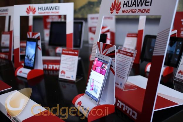 מכשיר Huawei Ascend P6 (צילום: גאדג'טי)