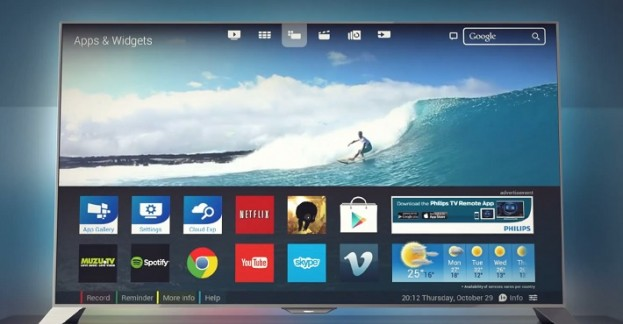 אולטרה מידי פיליפס חושפת טלוויזיה מבוססת אנדרואיד בעלת מסך ברזולוציית 4K FV-09